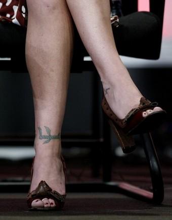 Christina Applegate Tattoos All Star Tattoos