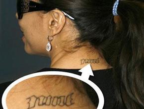 eva longoria parker tattoo