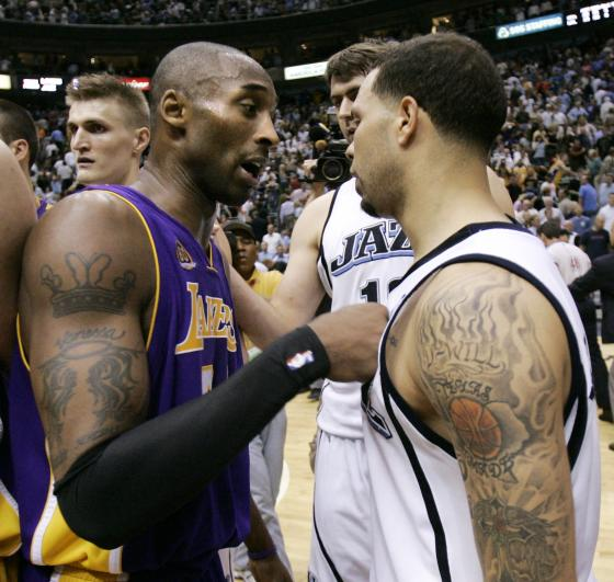 14b38dc76 Kobe Bryant Tattoos: thousand and one way to say I'm sorry!