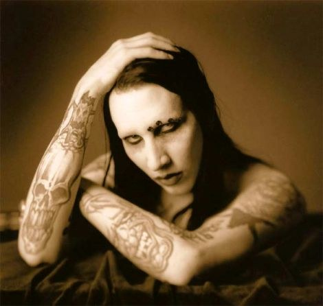 Marilyn Manson Tattoos | All Star Tattoos