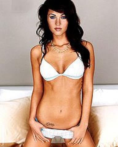 21-years-old, Megan Fox has got 9 tattoos,