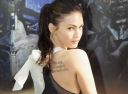 Megan Fox Tattoos - Shakespeare