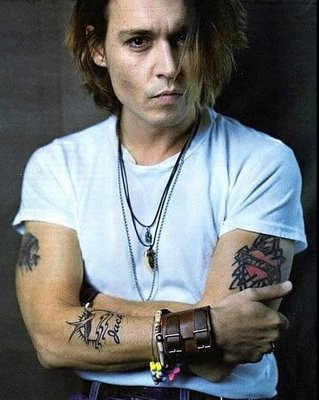 CELEBRITY TATTOOS - Johnny Depp Tattoos