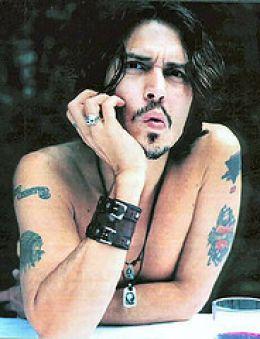 Johnny Depp Tattoos All Star Tattoos