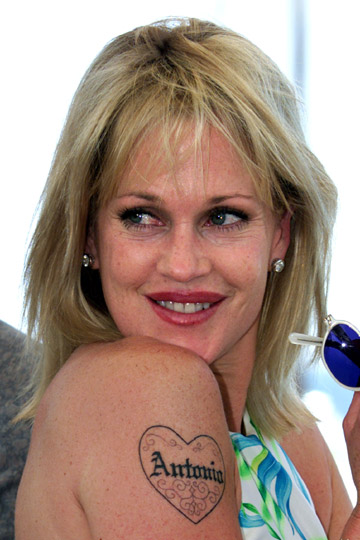 Melanie Griffith Tatto... Ashlee Simpson Bio