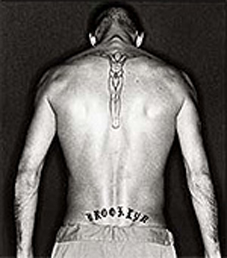 beckham tattoo prison break
