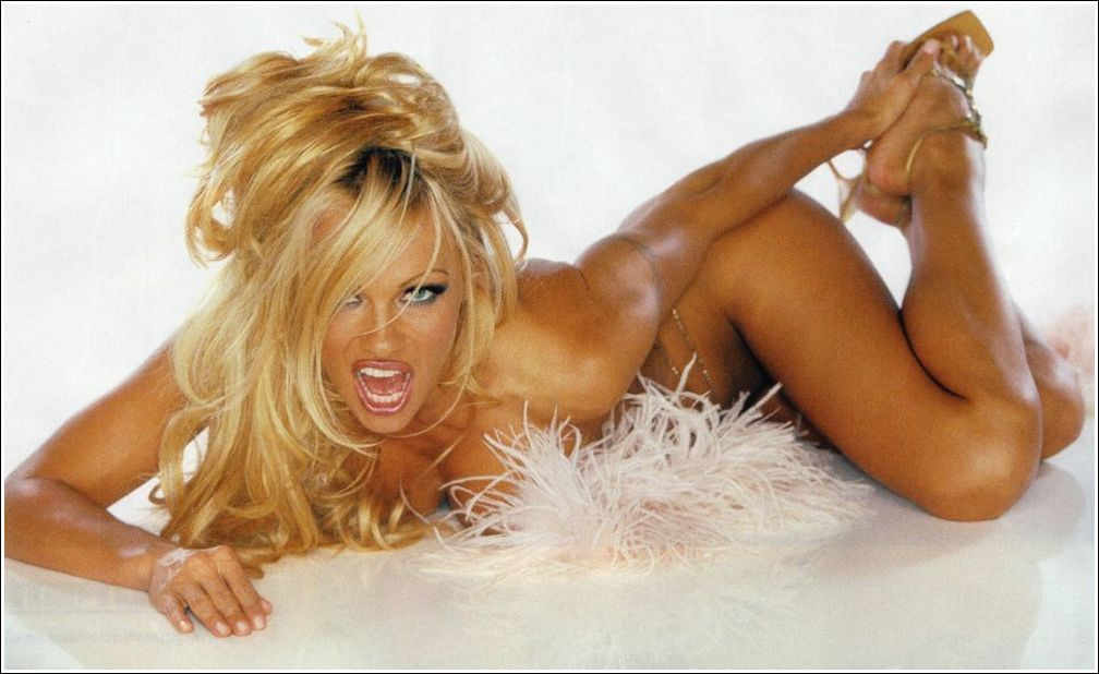 wwe diva trish topless